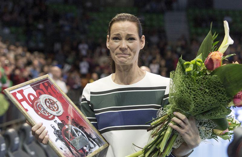 Így búcsúzott a válogatottságtól Görbicz Anita – fotó