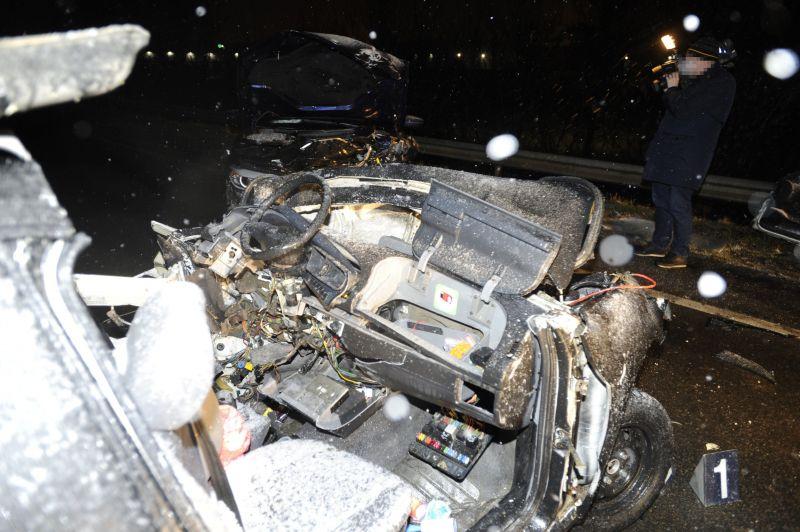 Brutális fotók: halálos baleset történt a Nagytétényi úton