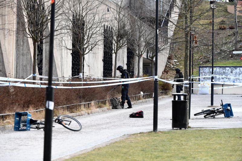 Robbanás történt Stockholm egyik metróállomásánál