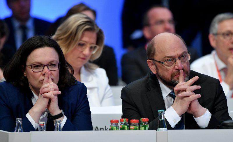 A koalíciós tárgyalás elkezdése mellett döntött a Német Szociáldemokrata Párt