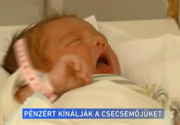 3-5 millió forintért árulják a kisbabákat Magyarországon