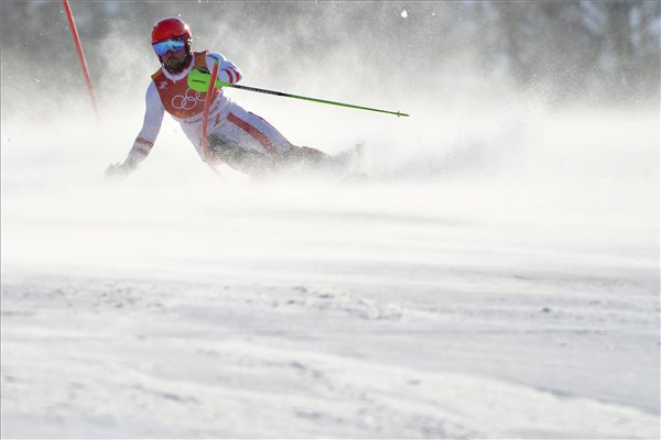 Hirscher megszerezte első olimpiai aranyát