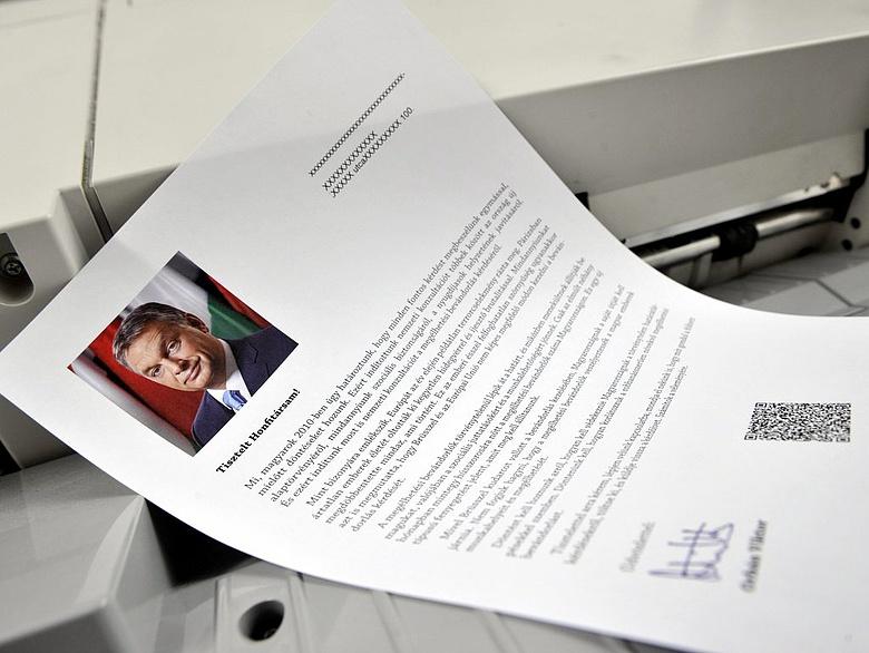 Újabb levelet kapnak a magyar háztartások Orbán Viktortól