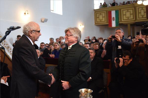 Szörényi Levente kapta a Kölcsey-emlékplakettet 2018-ban