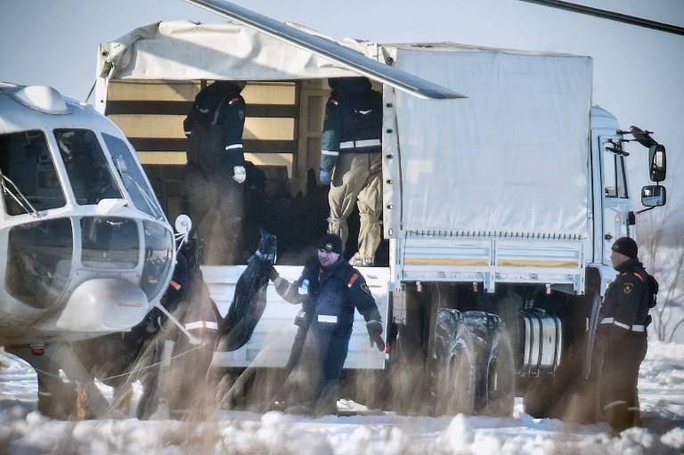 Vizsgálják a lezuhant orosz gép fekete dobozát