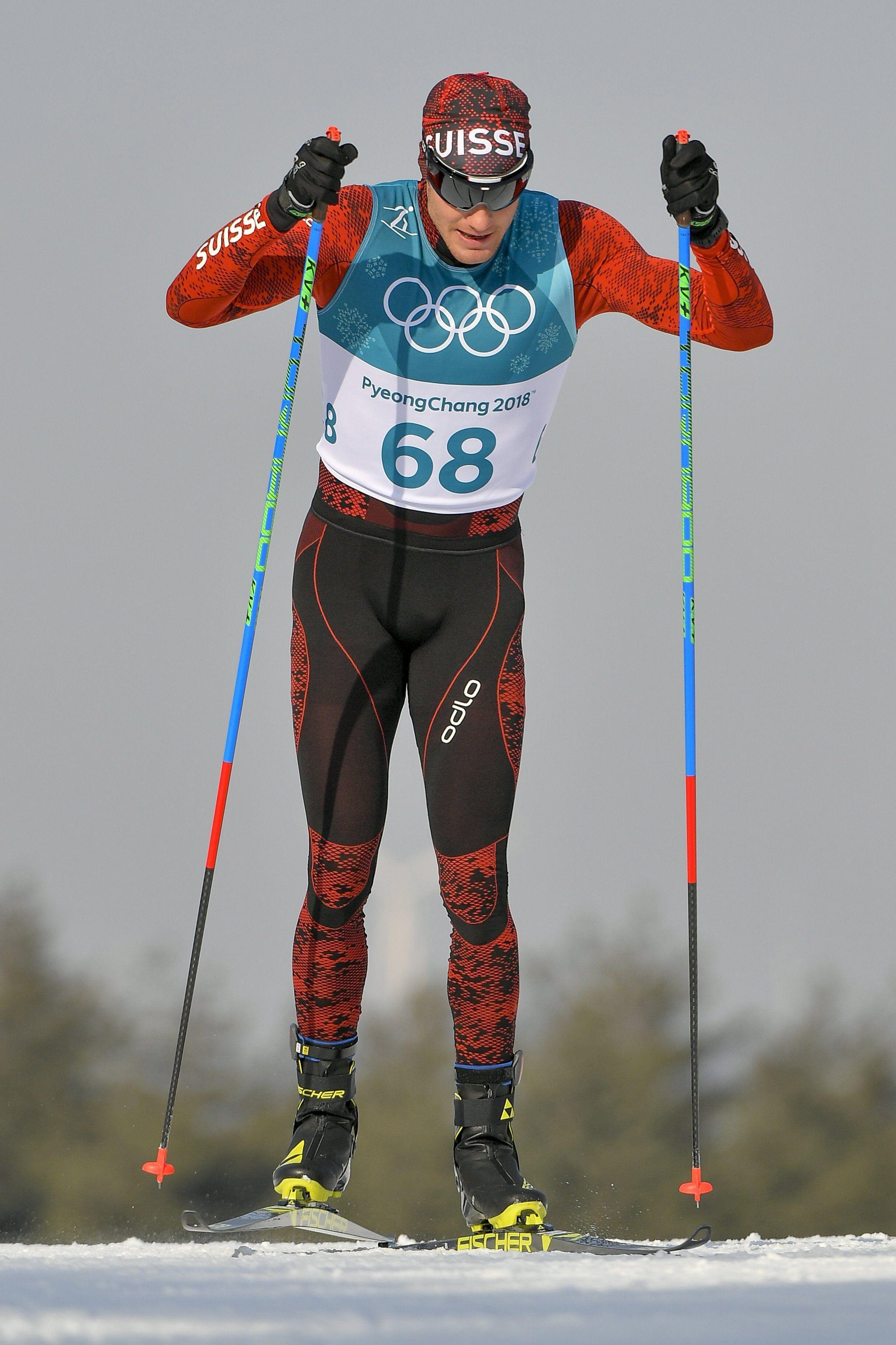 Téli olimpia: Dario Cologna harmadszor győzött 15 kilométeres sífutásban