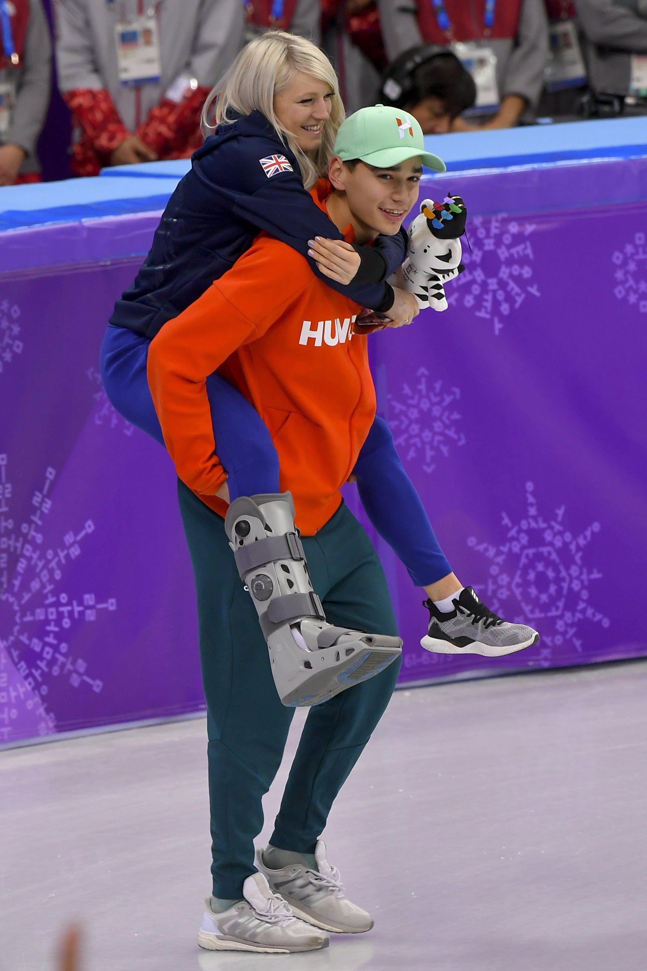 Liu Shaolin Sándor nemcsak olimpiai bajnok, de az olimpia hősszerelmese is lett – fotó