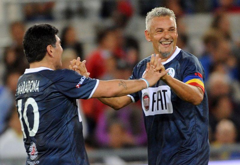 Így telnek Roberto Baggio napjai Debrecenben: kedden egy különleges edzésmódszert mutatott be