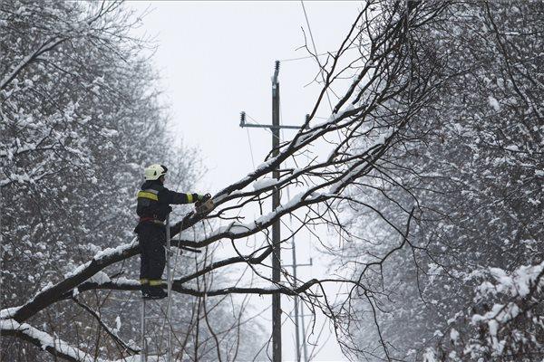 Már csak egy településen nincs áram Vasban