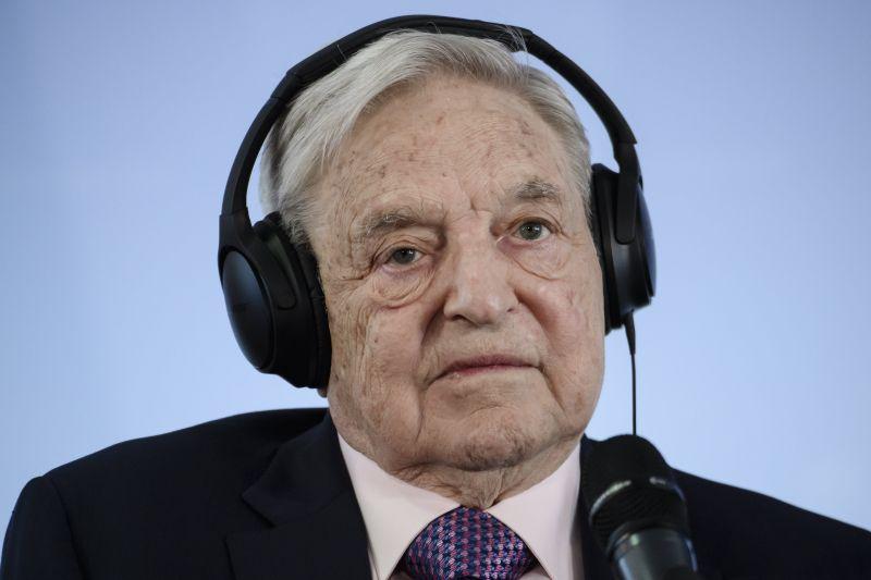 Ma aztán a csapból is Soros György fog folyni