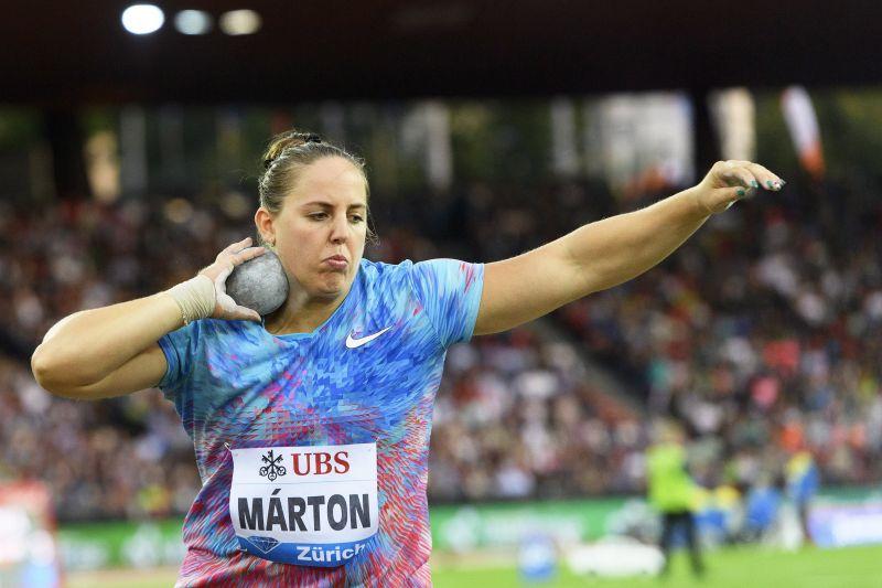 Szívrohamot kapott a bíró Márton Anita súlylökő-versenyének harmadik sorozatában