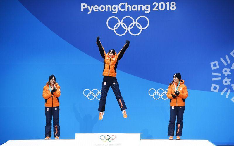 Ötödik olimpiai aranyérmét nyerte Ireen Wüst holland gyorskorcsolyázó