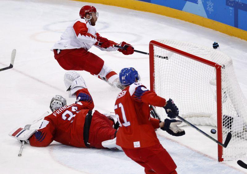 Az oroszok jutottak döntőbe elsőként a férfi jégkorongtornán a téli olimpián