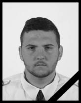 A rendőrség kiadta a hivatalos gyászjelentést a rendőrautók balesetében meghalt fiatal rendőrről