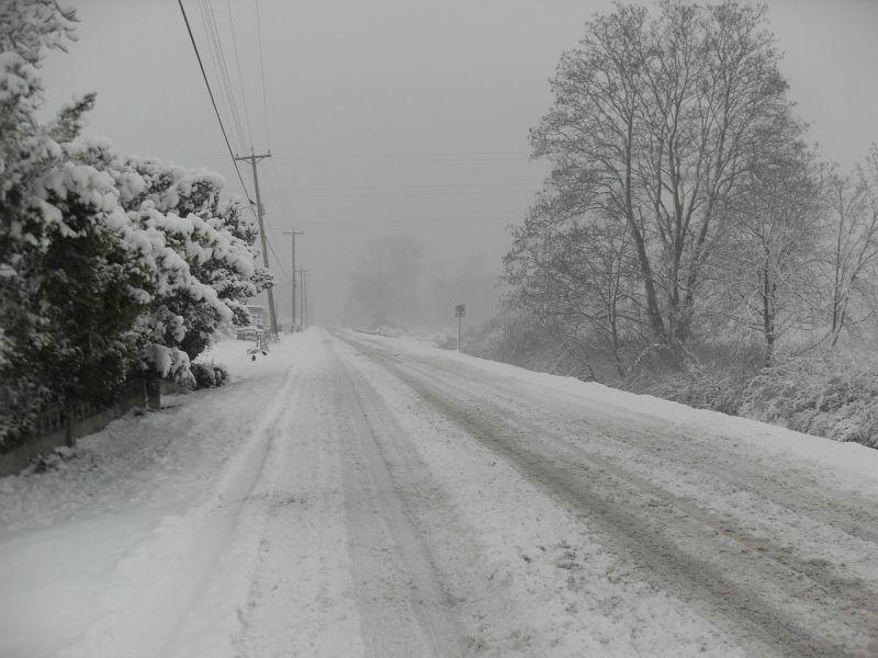 Útinform: több út le van zárva Vasban a hóátfúvások miatt
