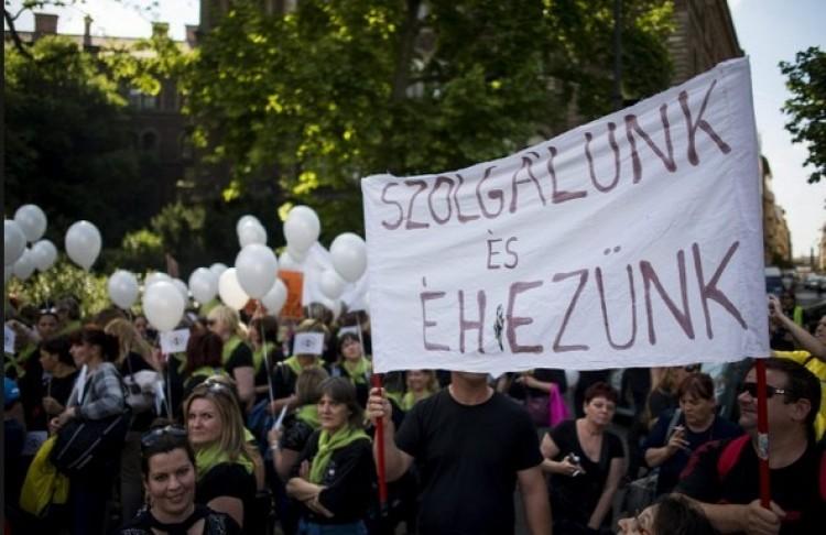 Megkezdődött az önkormányzati köztisztviselők sztrájkja
