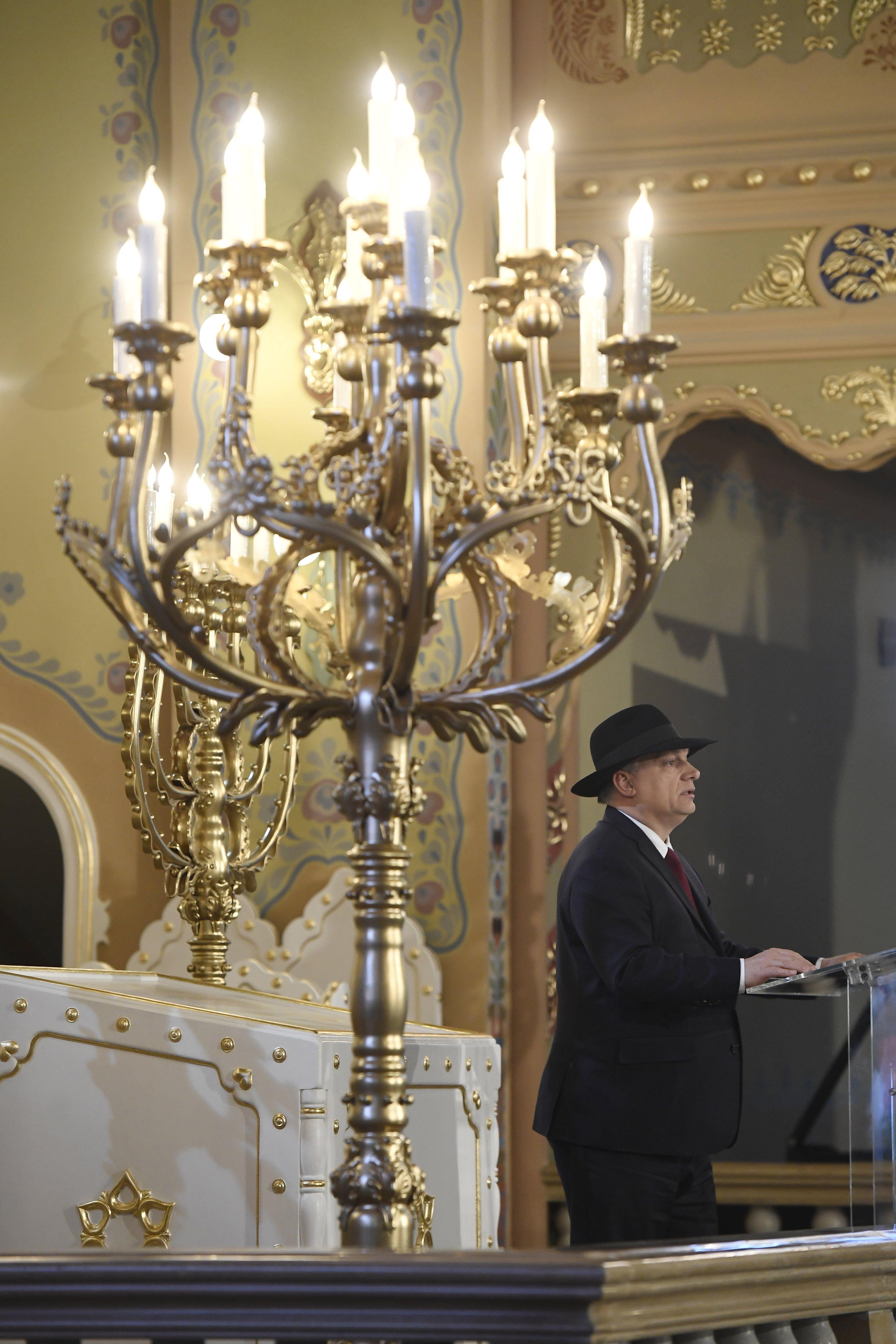 Orbán: olyan Európa és Magyarország kell, ahol a zsidók és a keresztények békében élhetnek