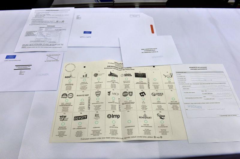 Választás 2018 – Az NVI megkezdte a levélcsomagok postázását