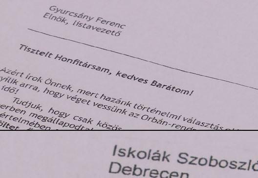 Újabb debreceni iskolák kaptak DK-s kampánylevelet