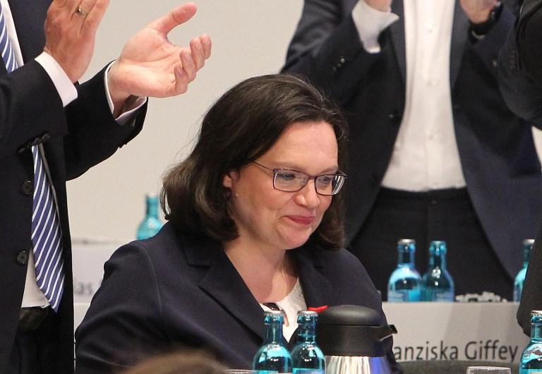Megválasztotta első női elnökét a Német Szociáldemokrata Párt (SPD)