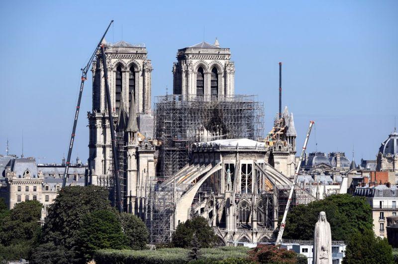 Folytatják a Notre-Dame leállított felújítását