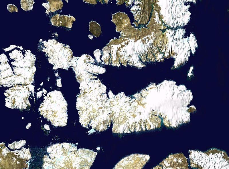500 méternyi jég alá zárt tavakat találtak a kutatók Kanadában
