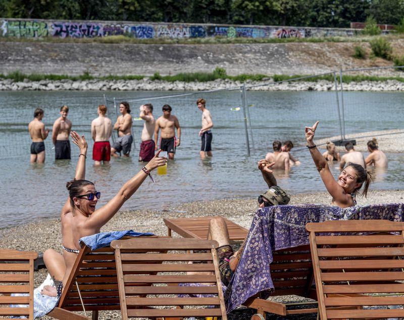 Brutális hőség vár a Szigeten fesztiválozókra – így készülnek a szerevezők