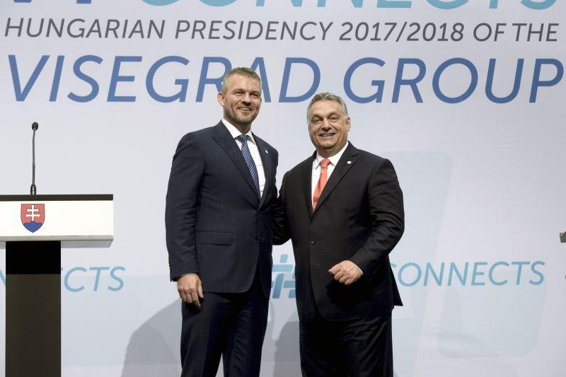 """""""Azért támadnak, mert sikeresek vagyunk"""" – Orbán szerint a brüsszeli támadások mögött a V4-ek sikerei állnak"""