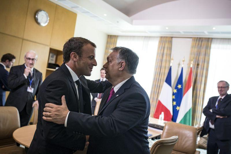 Erről tárgyalt Orbán a francia államfővel Szófiában