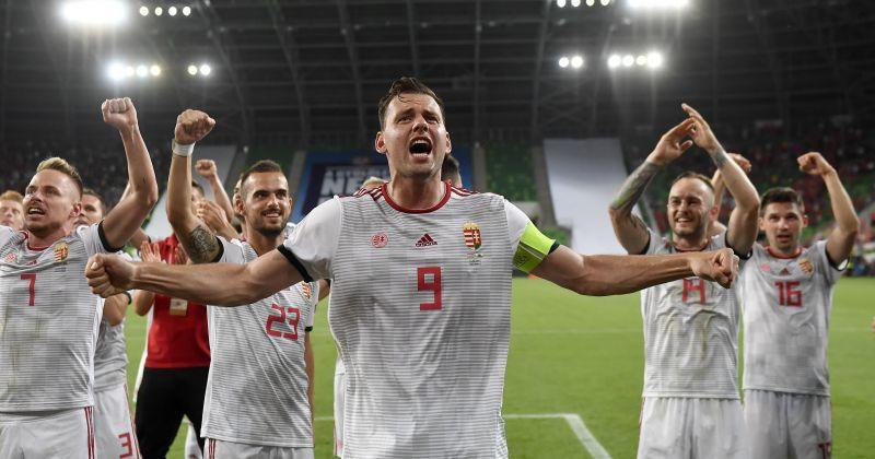 Így ünnepeltek Dzsudzsákék az öltözőben Wales legyőzése után – videó