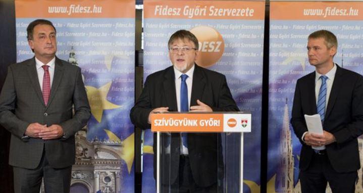Dézsi Csaba Andrást jelöli Győr polgármesterének a Fidesz és a KDNP