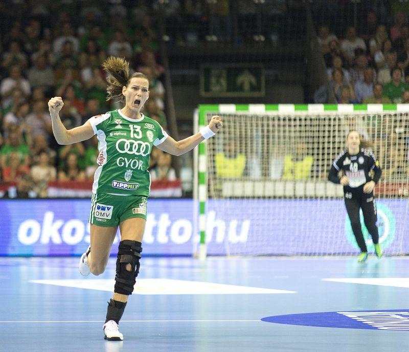Kettős győzelemmel jutott be a Győri ETO a Bajnokok Ligája négyes döntőjébe
