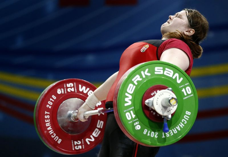 Magát Krisztina aranyérmes a súlyemelő Európa-bajnokságon