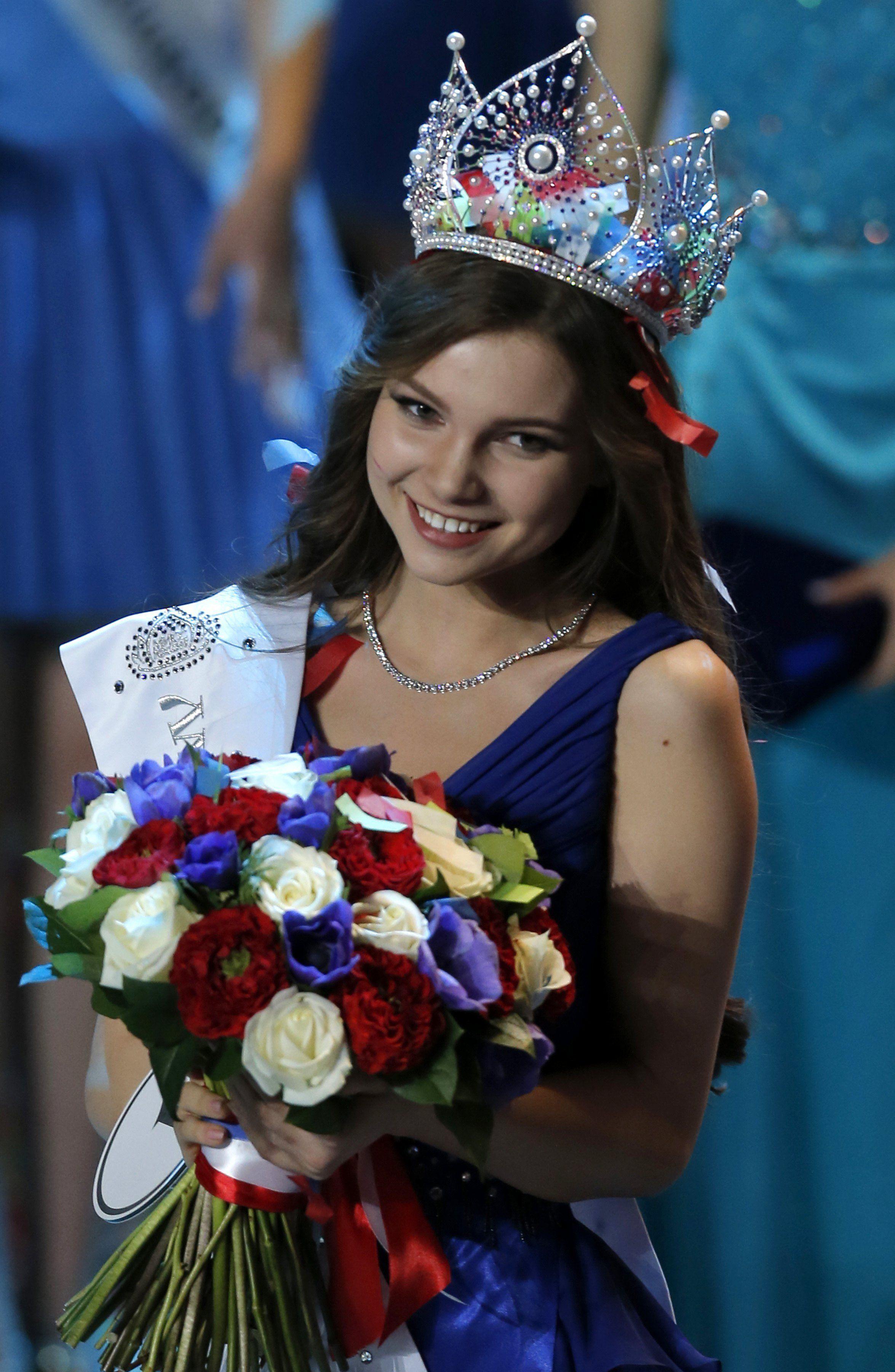Így fest tűzpiros bikiniben az idei Miss Oroszország győztese – képgaléria