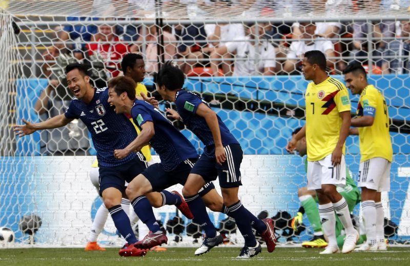 Japán visszavágott Kolumbiának a brazíliai vereségért