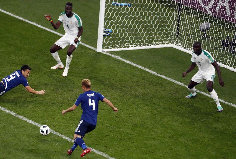 Foci vébé – nem bírt egymással Japán és Szenegál, 2-2-es döntetlen lett a vége