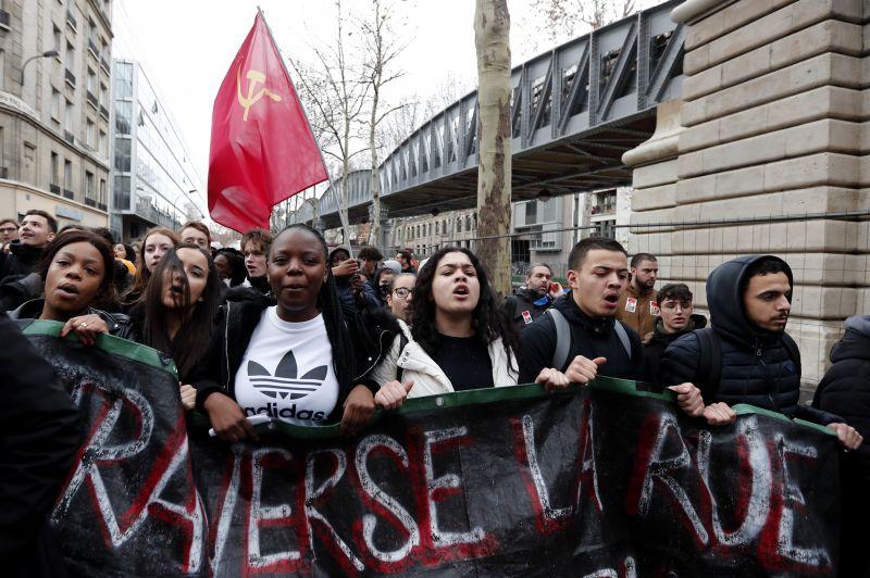 Francia zavargások – A középiskolások megmozdulásai is folytatódtak