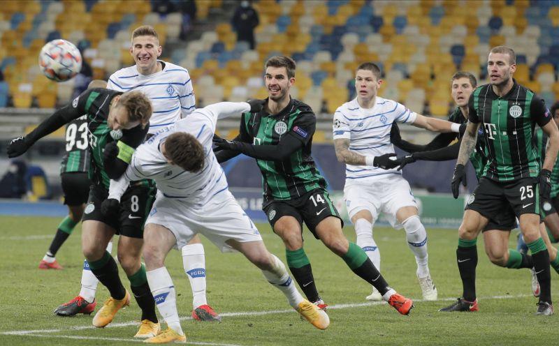 Egygólos kijevi vereséggel búcsúzott a Fradi