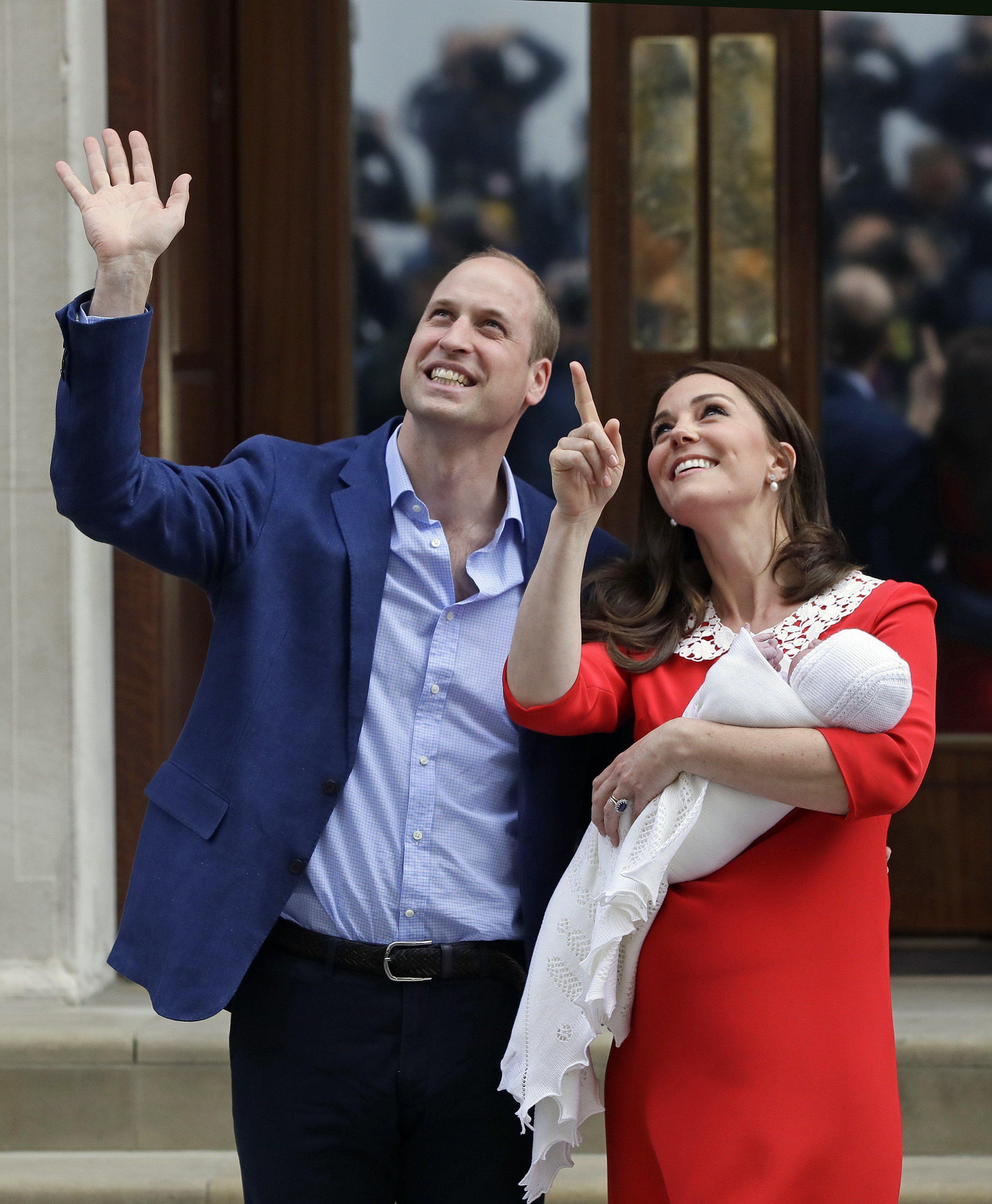 Megvan a név! Így hívják Katalin hercegné és Vilmos harmadik gyermekét