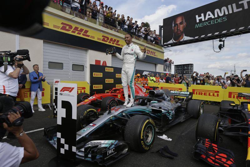 Francia Nagydíj – Hamilton győzött és újra vezet az összetettben