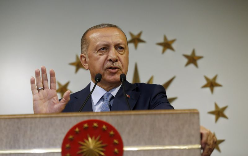 Erdogan bejelentette győzelmét a török államfőválasztáson