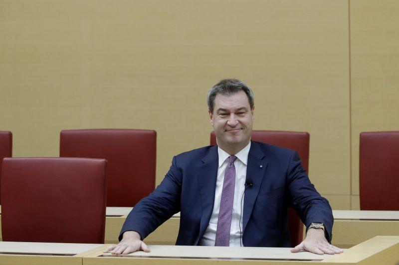 Megválasztották bajor miniszterelnöknek Markus Södert