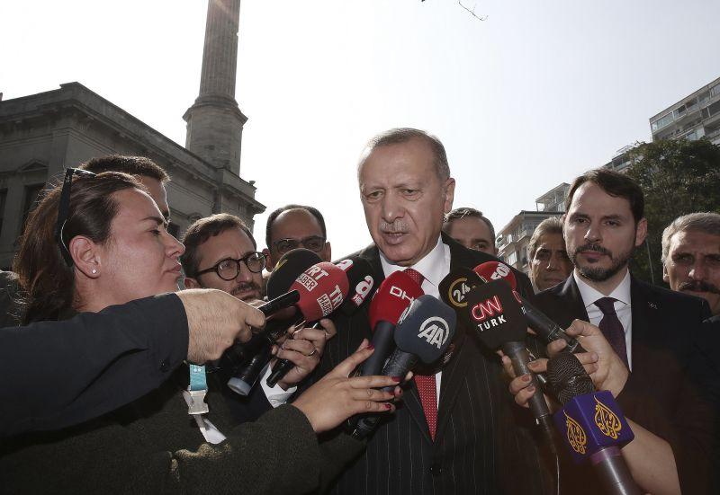 Erdogan: folytatódik a hadművelet, ha nem teljesülnek a tűzszünet feltételei