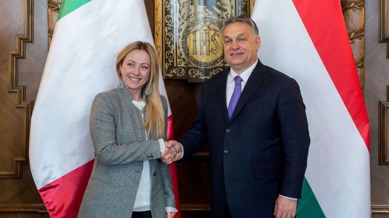Meghívta Orbánt Rómába az Olasz Testvérek párt elnöke