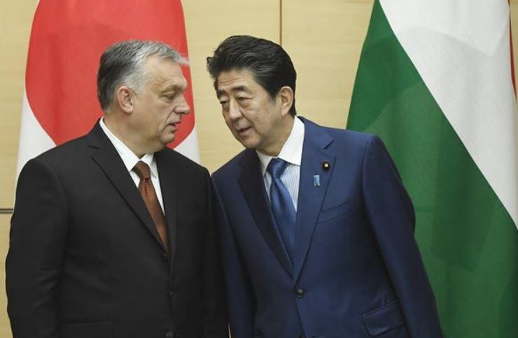 """Orbán: a magyar-japán kapcsolatok különlegesek, """"van lelki tartalmuk is"""""""