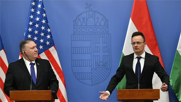Szijjártó: újraépül a magyar-amerikai kapcsolatok politikai pillére