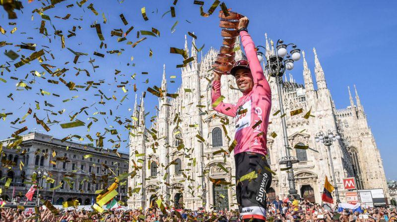 Budapestről indul a 2020-as Giro d'Italia