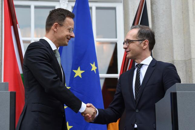 Keményen nekiment a magyar kormánynak a német külügyminiszter