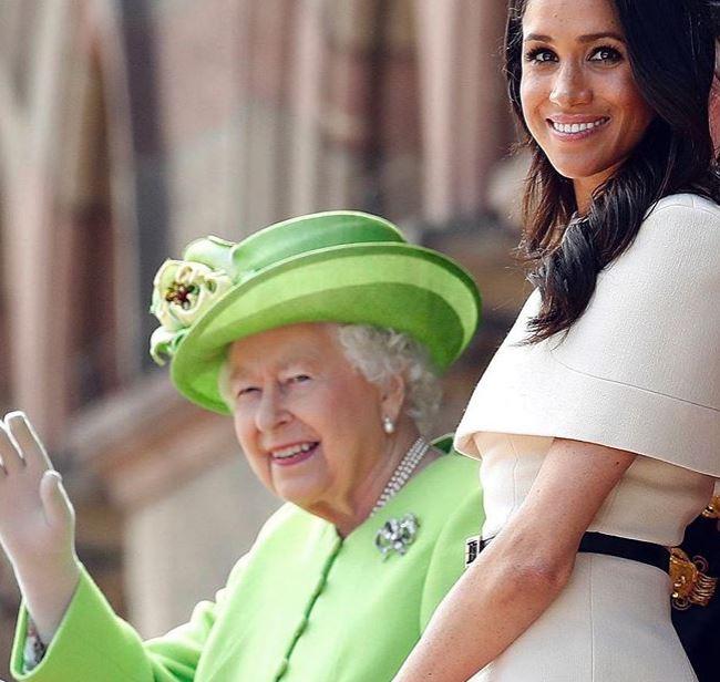 Meghan Markle-t ezzel a képpel köszöntötte szülinapján a királynő – fotó