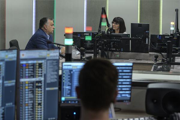 """orban_KossuthRadio_mti_szigetvaryzsolt Orbán Viktor: """"Ez maradjon az én titkom"""""""